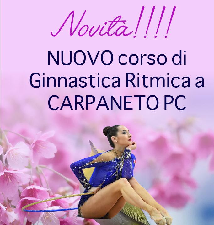 Nuovo corso di Ginnastica Ritmica a CARPANETO!