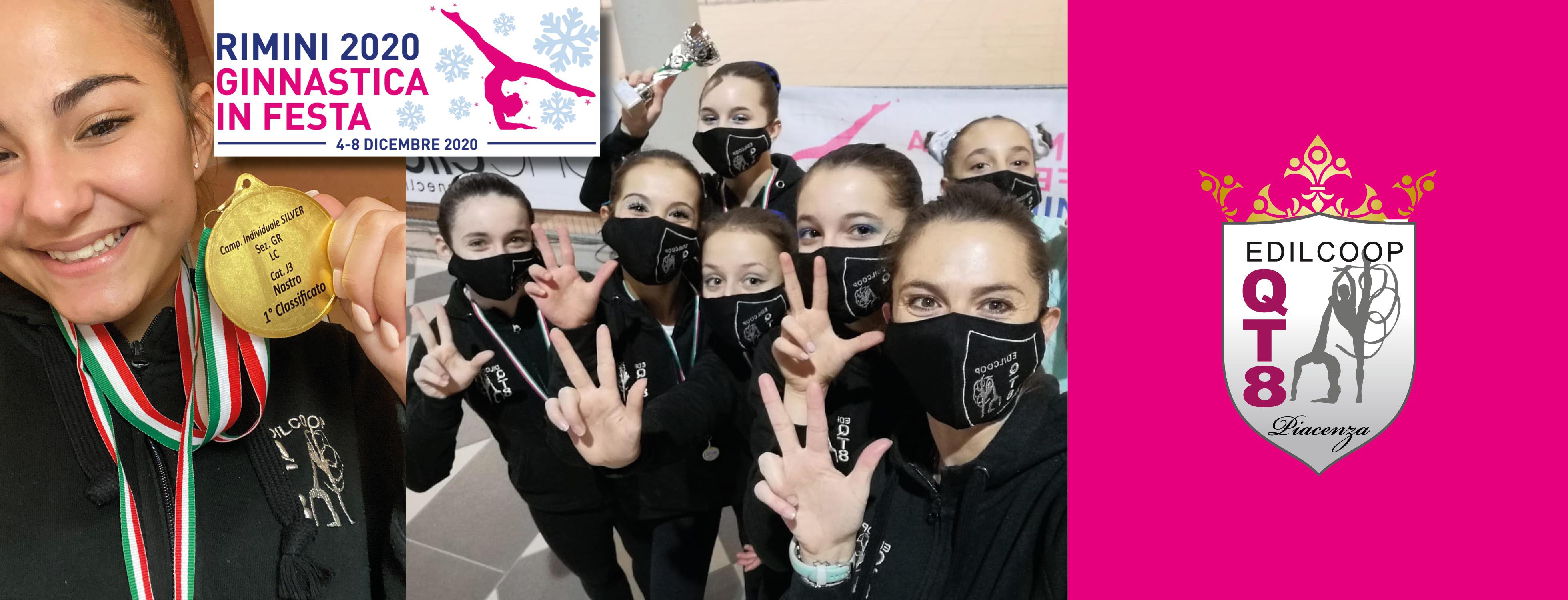 Le nostre squadre agonistiche al campionato Nazionale di Rimini